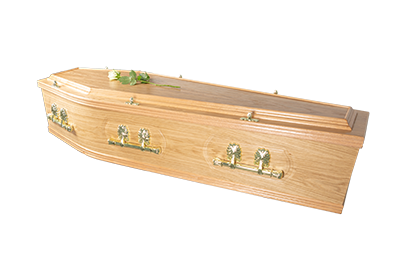 Crescent Traditional Coffin