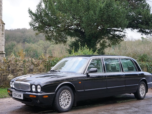 Our Classic Daimler Limousine