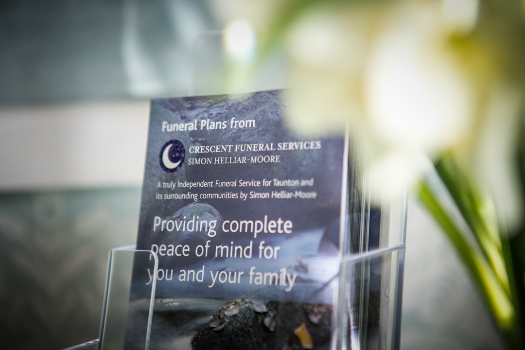 Funeral Plan Leaflet from Crescent Funerals