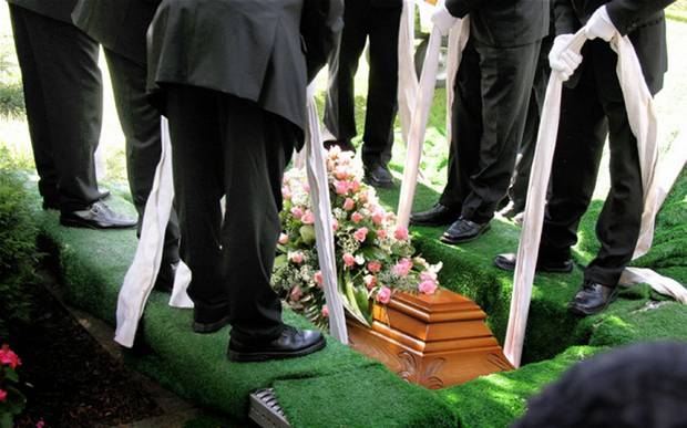 A Traditional Burial Service