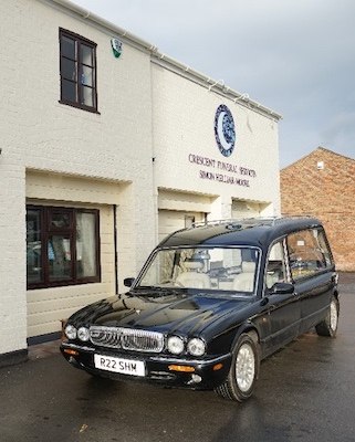 Our Classic Daimler Hearse