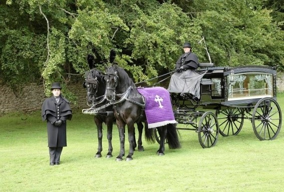 Horse Drawn Carriage Funeral