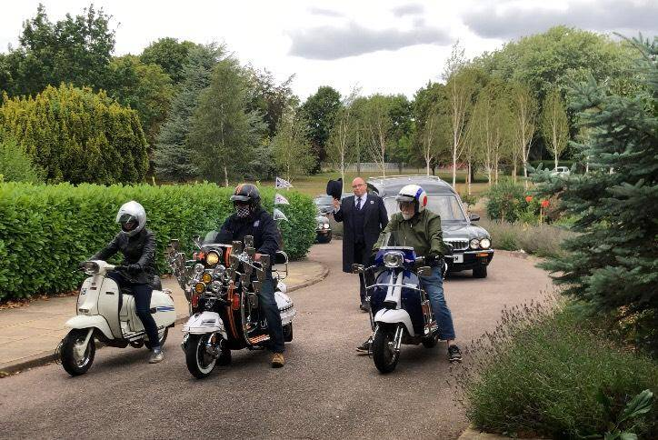 motorbike1 Crescent Funeral Services | Our Funeral Car Fleet
